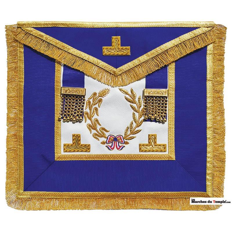 Grands Officiers Nationaux Tablier d'Officier National grande tenue - GLNF