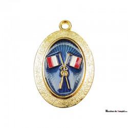 Grands Officiers Provinciaux Bijou d'Officier Provincial Passé - GLNF