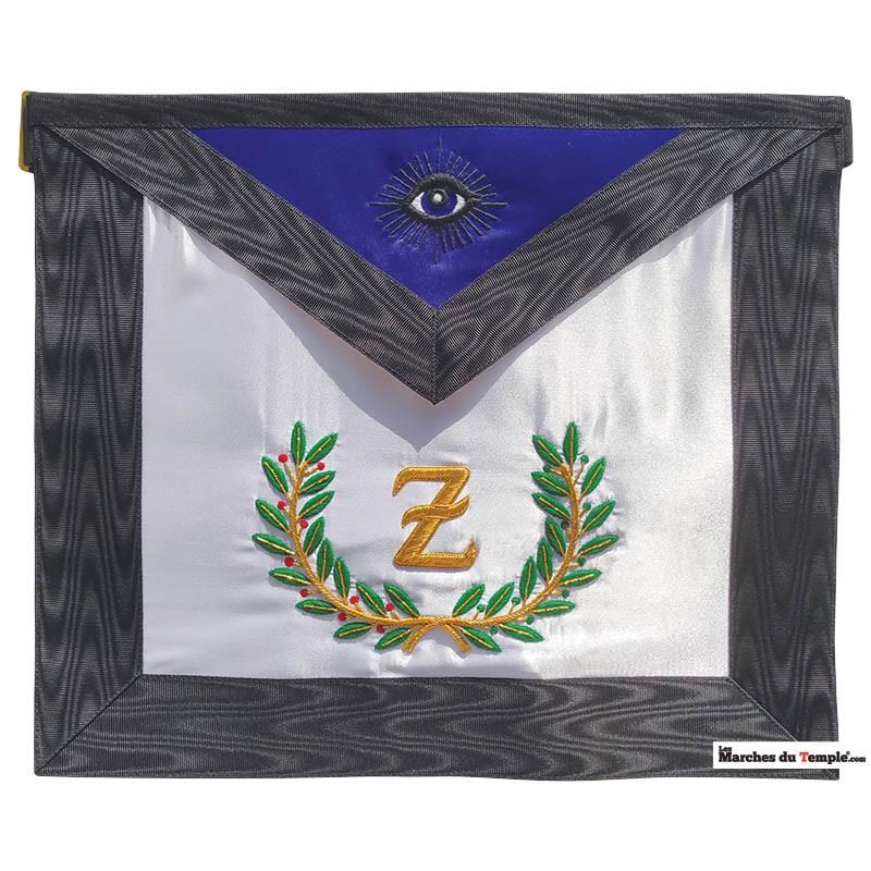 Décors du 4ème degré Tablier du 4ème Grade du REAA - Z droit - Œil noir