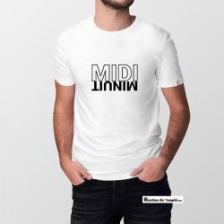 Vestiaire Maçonnique T-shirt 100% coton Bio Midi Minuit - Homme