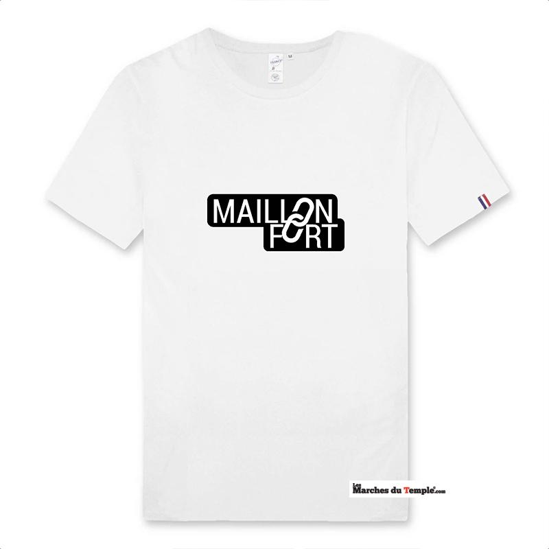 Vestiaire Maçonnique T-shirt 100% coton Bio MAILLON FORT - Homme