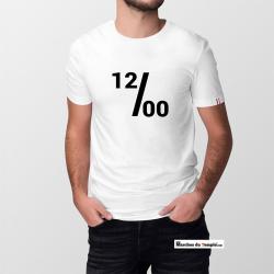 Vestiaire Maçonnique T-shirt 100% coton Bio 12/00 - Homme