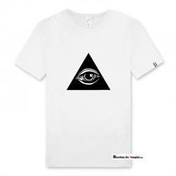 Vestiaire Maçonnique T-shirt 100% coton Bio Oeil de la Providence - Homme