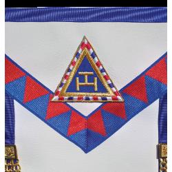 Arche Royale Domatique Tablier d'Officier Provincial de l'Arche Royale