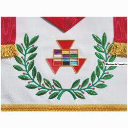 Décors Hauts Grades Tablier d'Excellent Grand Prêtre de l'Arche Royale Américaine
