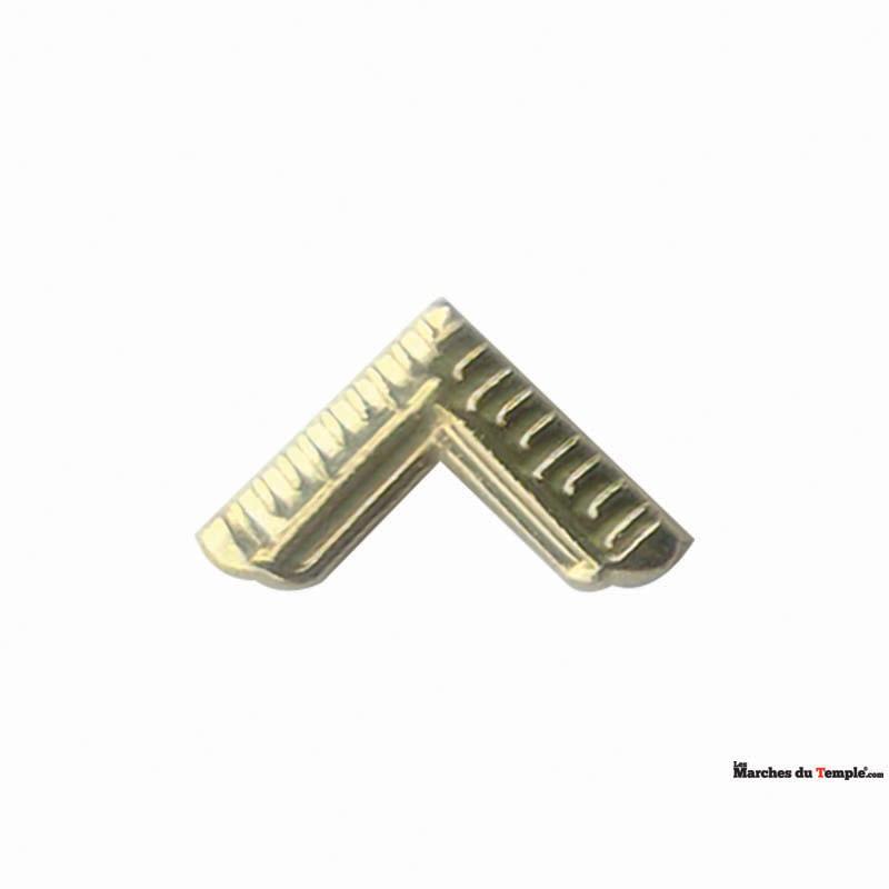 Accessoires Décors Pin's Equerre - 1,1cm