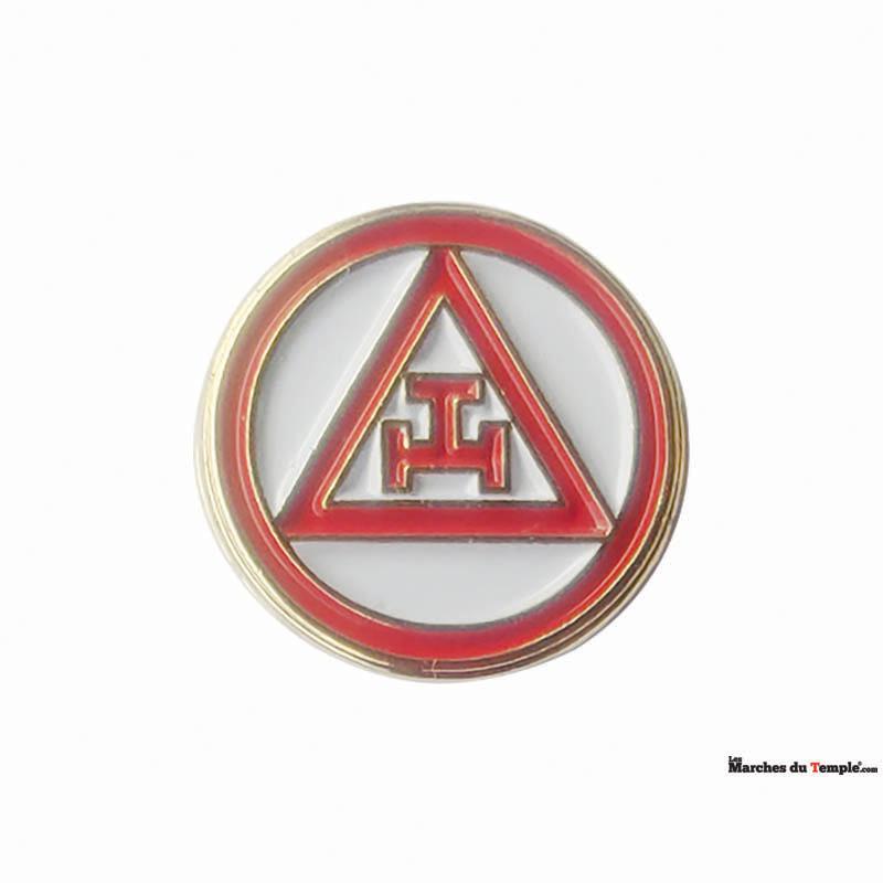 Accessoires décors Pin's Arche Royale Américaine - 1,2cm