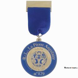 Médailles Médaille de Loge émaillée sur-mesure