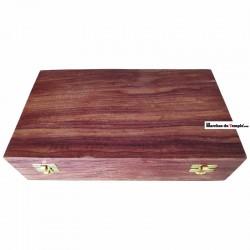 Matériel de Loge Coffret en bois 1 Maillet