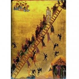 """""""The Ladder of Divine Ascent"""" - """"L'échelle Sainte"""" 🚠 Icone du 12ème siècle présentant Jean Climaque, qui écrivit le Traité du même nom, guidant des moines sur l'échelle vers Jésus. ⭐ L'icone originale se trouve au Monastère Sainte-Catherine du Sinaï en Égypte.  D'après les écrits, l'Échelle comporte trente chapitres ou échelons. Ils ont un ordre précis et peuvent être regroupés par étapes ou thématiques : 1-4 : De la renonciation au monde et de l'obéissance à un père spirituel  5-7 : De la pénitence et l'affliction, chemins vers la joie véritable 8-17 : Défaite du vice et victoire des vertus 18-26 : Pièges de l'ascétisme : paresse, orgueil, langueur d'esprit 27-29 : Hésychasme et apatheia ( immobilité et impassibilité) 30. Des liens des vertus avec la Trinité ▪️ ▫️ ▪️ ▫️ ▪️ #symbolique #symbolemaçonnique #masonicsymbol #symbole #lettreg #symbolecaché #equerreetcompas #gravuremaçonnique #oeuvremaçonnique #squareandcompass #pierrebrute #francmaçonnerie #francmaçon #masonic #maçonnique #francmaconnerie #francmaçonnerie #francmaçon #freemason #freemasonry #francmasoneria #freimaurer #lesmarchesdutemple"""