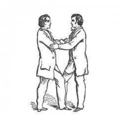 Les 5 points parfaits de la maitrise. Sans dévoiler de secret nous pouvons dire que les 5 points sont un moment clé et fondateur de l'élévation au grade de Maître. Chaque maître se souvient du moment où il les as reçus et probablement également de ceux où il peut les avoir donnés. Plus que le symbole qui est déjà d'une grande puissance, l'apprentissage des 5 points parfaits de la maîtrise est un instant de communion de l'Être (corps, âme et esprit) et des Êtres (les deux Frères qui se les donnent). Et vous? Quel souvenir en avez-vous? ▪️ ▫️ ▪️ ▫️ ▪️ #5pointsparfaits #maitre #maîtremaçon #gradedemaitre #initiation #symbolemaçonnique #masonicsymbol #symbole #symbolecaché #equerreetcompas #gravuremaçonnique #squareandcompass #pierrebrute #francmaçonnerie #francmaçon #masonic #maçonnique #francmaconnerie #francmaçonnerie #francmaçon #freemason #freemasonry #francmasoneria #freimaurer #lesmarchesdutemple